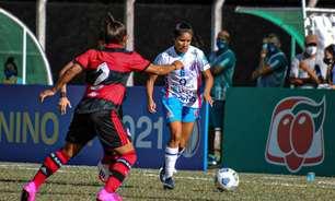 Flamengo empata sem gols com o Napoli-SC pelo Brasileirão Feminino