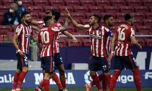 Atlético de Madrid vence o Huesca e volta à liderança isolada do Campeonato Espanhol
