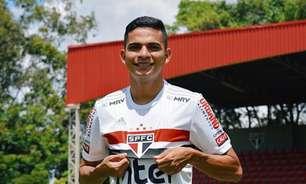 Bruno Rodrigues fala sobre chances no São Paulo: 'Tudo tem seu tempo'