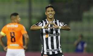 Zaracho e Nacho Fernández se salvam no empate do Galo com o Deportivo La Guaira