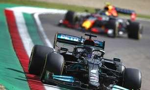 GP da Emília-Romanha de pista seca teria vitória de Hamilton, concordam jornalistas