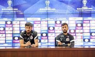 Bruno Méndez e Camacho analisam como falta de torcida e idioma podem influenciar na estreia do Corinthians
