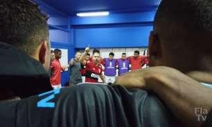 'É o campeão que vai entrar em campo!': assista aos bastidores da vitória do Flamengo sobre o Vélez