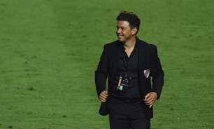 Após empate contra Fluminense, Marcelo Gallardo diz: 'Jogamos contra um rival importante'