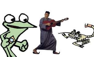 Laerte ilustra canção de João Suplicy inspirada em fábula
