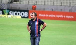 Fortaleza anuncia saída do técnico Enderson Moreira