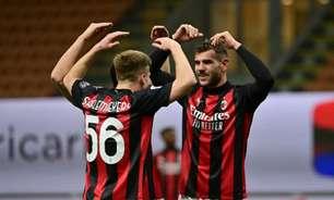 Ibrahimovic passa em branco, mas Milan bate o Benevento no Italiano e segue na luta por vaga na Champions