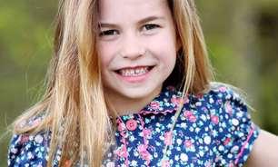 Família real divulga foto inédita da princesa Charlotte