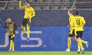 Dortmund diminui pedida por Jadon Sancho na janela de transferências