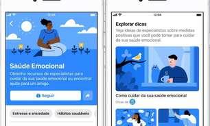 Facebook lança novas dicas e guias de Saúde Emocional no Brasil