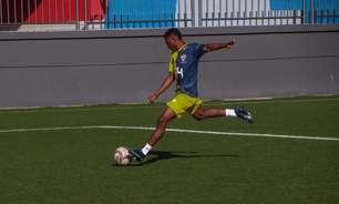 Cauã comemora oportunidade no time titular do Bahia de Feira: 'É muito gratificante'