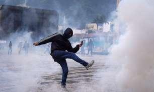 Colômbia tem oitavo dia de protestos e polícia dispara gás lacrimogêneo