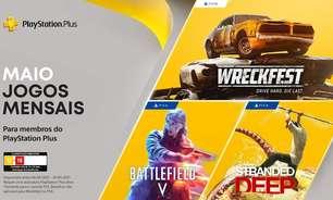 PS Plus de Maio traz Battlefield V e Stranded Deep