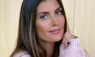Isabella Fiorentino prova que make monocromática é fashion