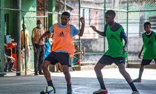 Projeto de captação de talentos do Flamengo realiza segunda seletiva em comunidades do Rio de Janeiro