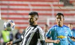 Jael perde pênalti, e Ceará empata com o Bolívar pela Sul-Americana