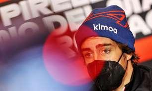"""Alonso diz que Alpine tem """"bom carro"""" e impõe meta: """"Melhorar ritmo de classificação"""""""