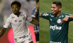 Três anos depois, clássico entre Palmeiras e Santos será transmitido no SporTV; entenda