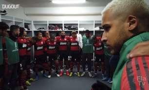 VÍDEO: com direito a discursos de Diego e Gabigol, veja os bastidores da vitória do Flamengo sobre a LDU