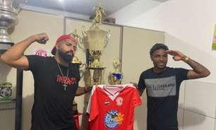 Sósias de Gabigol e Vitinho assinam com clube do Rio e disputarão a Série B1 do Carioca