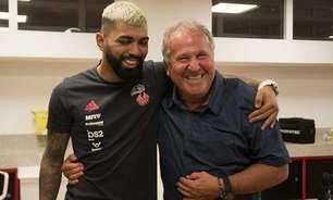 'Do príncipe para o Rei': Gabigol presenteia Zico após igualar recorde do Flamengo na Libertadores
