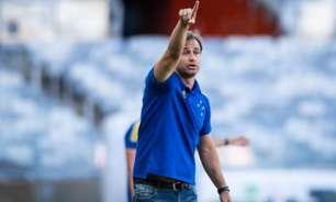 Felipe Conceição mantém otimismo com classificação do Cruzeiro diante do América-MG