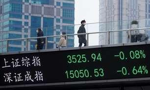 Ações da China fecham semana em queda com pressão de altas valorizações e tensões com Ocidente