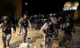 Confronto entre polícia israelesnse a palestinos deixa vários feridos