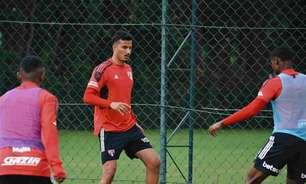 Se recuperando de lesão no joelho, Walce inicia transição no São Paulo