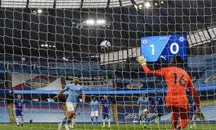 Após cobrança de pênalti à la Alexandre Pato, Guardiola comenta: 'Agüero é que decide como bate'
