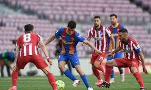 Em jogo fraco, Barcelona e Atlético de Madrid ficam no empate na La Liga