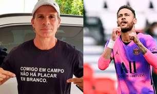 Errou? Túlio Maravilha dá conselho para Neymar se tornar melhor do mundo: 'Primeiro tem que casar'