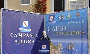 Mirando turismo, ilha de Capri é declarada 'livre da Covid'