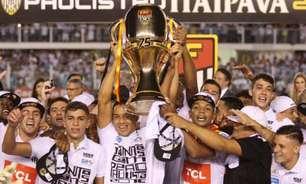 Último título do Santos completa cinco anos neste sábado