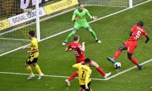 Sem Haaland e com emoção até o fim, Dortmund derrota RB Leipzig
