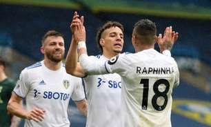 Tottenham perde para o Leeds e fica longe da Champions