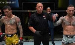 Brasileiro faz 'Luta da Noite' no UFC Vegas 26 e, mesmo derrotado, fatura mais de R$ 260 mil; veja