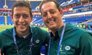 Nas redes, Benjamin Back relembra participação hilária de Fernando Caetano no Fox Sports; assista!