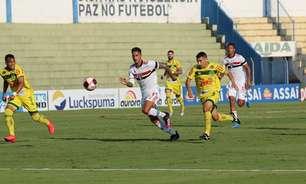 Com time reserva e jovens jogadores, São Paulo empata com o Mirassol