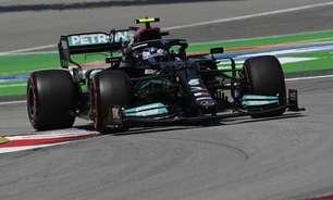 """Bottas diz que ritmo era bom na Espanha e que briga com Leclerc """"tornou tudo difícil"""""""