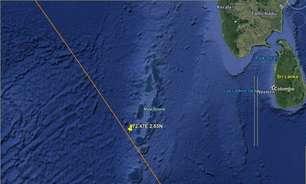 Foguete chinês cai no Oceano Índico sem causar danos