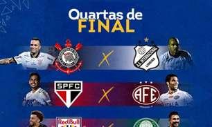 São Paulo encerra primeira fase na liderança geral com Corinthians na cola