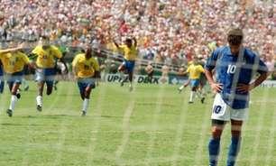 Baggio sobre pênalti contra o Brasil em 1994: 'Sigo sem me perdoar'