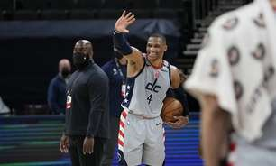 Westbrook decide, iguala recorde da NBA e Wizards derruba Pacers