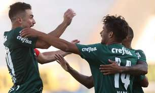 Com show de Scarpa e ajuda do Corinthians, Palmeiras vence a Ponte Preta e se classifica no Paulistão