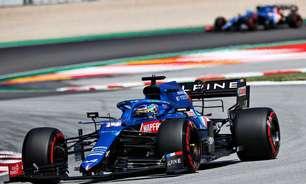 """Só 17º na Espanha, Alonso fala em """"estratégia suicida"""" da Alpine para tentar ponto"""