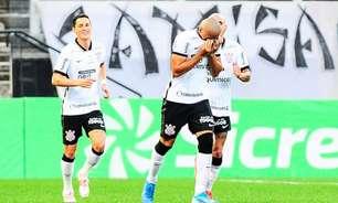 Mandaca comemora estreia com gol pelo Corinthians e dedica o tento a mãe: 'Dia inesquecível'