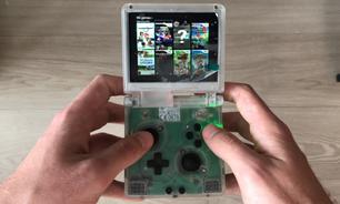 Nintendo Wii é modificado para ficar do tamanho de um Game Boy