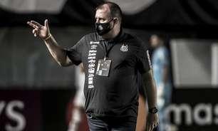 Marcelo Fernandes agradece torcida e lamenta fase ruim do Santos: 'Envergonhados'