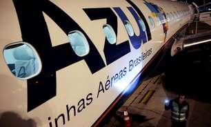 Tráfego de passageiros da Azul em abril cai 9,1% ante março